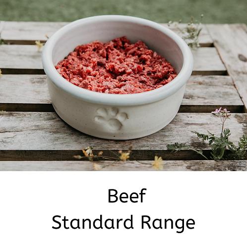 RAW Beef Standard Range