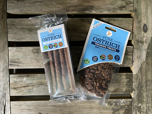 Pure Ostrich Sticks - 50g pack