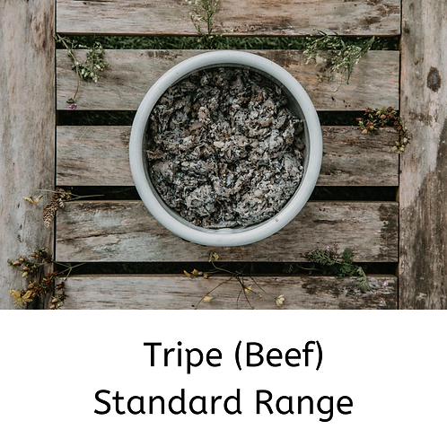 RAW Tripe (Beef) Standard Range