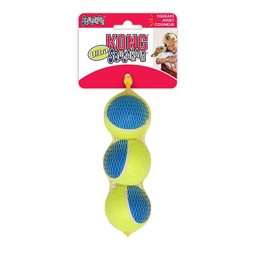 Kong Squeak Air Ultra Balls (3 Pk) Medium