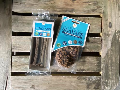 JR Pure Seabass Treats/Sticks