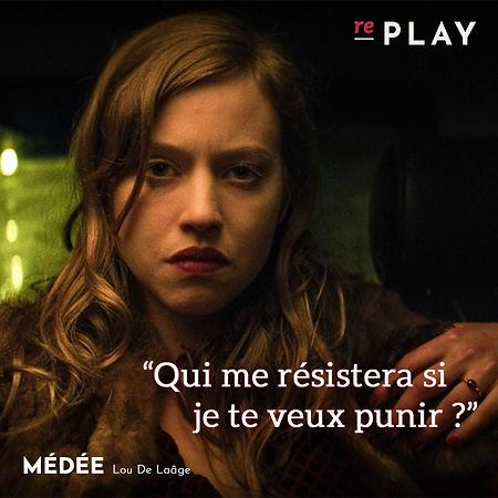 Replay_Lou de Laâge est Médée