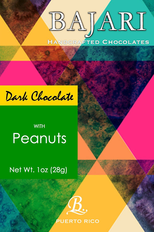 Dark Chocolate with Peanuts