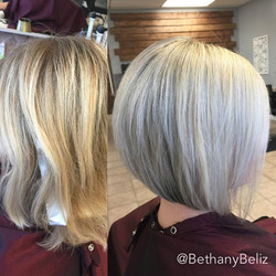 When they say they want to go blonder, we go blonder ❤️❤️ plus used my new #hanzoshears on this hair