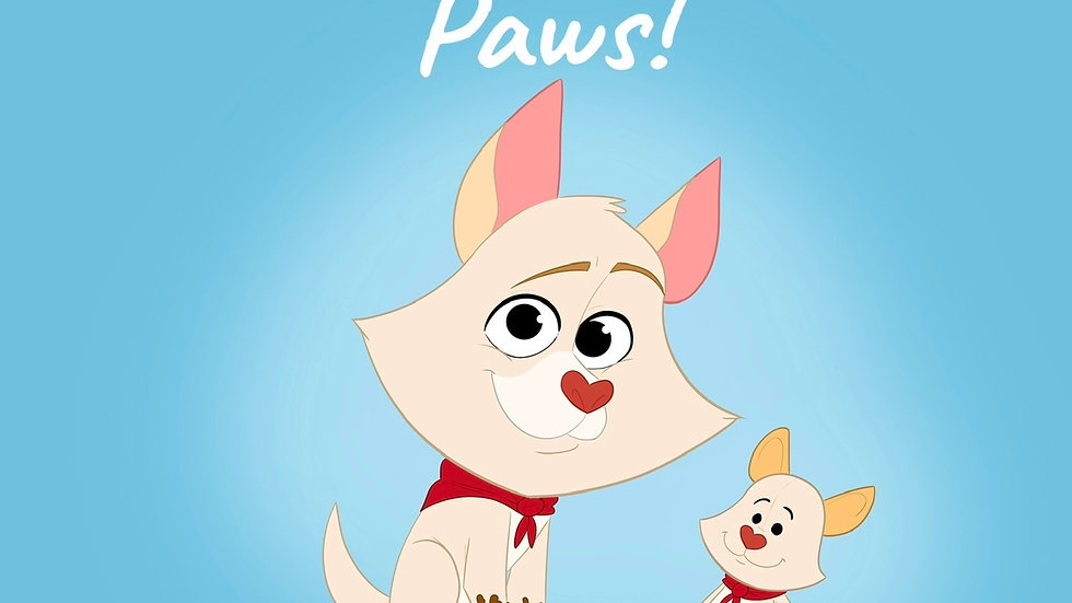 """""""Howie Wash Your Paws!"""""""