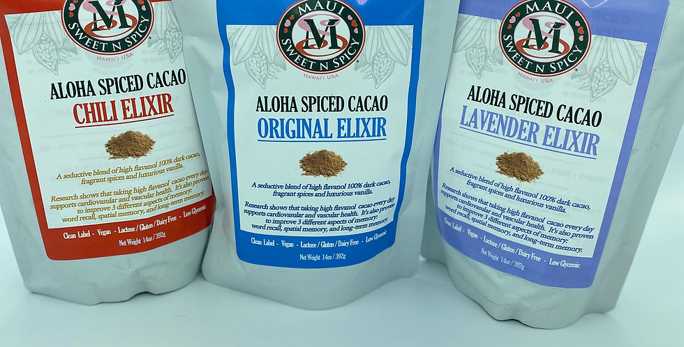 Monthly Refill of Aloha Spiced Cacao ELIXIR