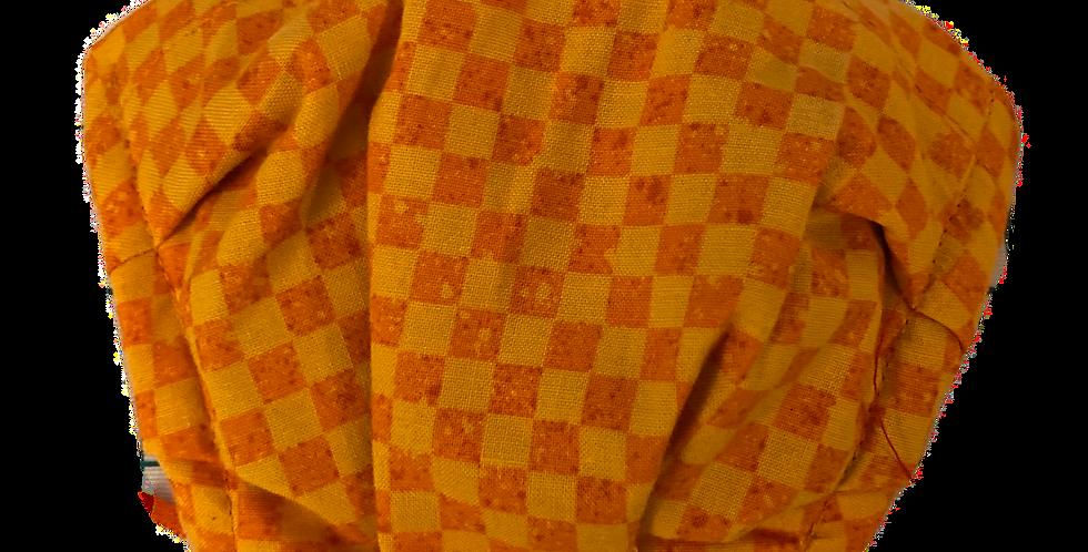 Orange Checkboard