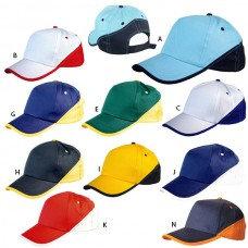 """כובע """"ספורט"""" מכותנה בעיצוב חדיש"""