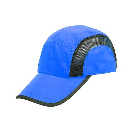 אולסטאר - כובע מצחיה מעוצב 5 פנאל בד מנדף זיעה בשילוב בד רשת סגר סקוץ', מידה 59