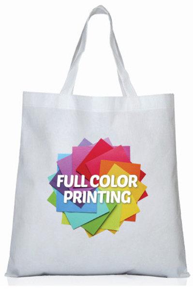 תיק אל-בד עם הדפסה צבעונית