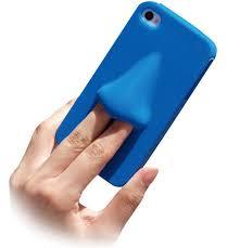 כיס סיליקון כחול