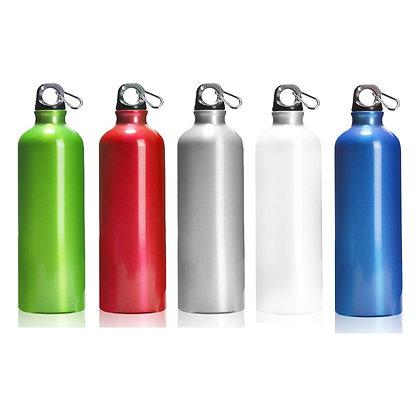 """אוקיינוס - בקבוק מעוצב עשוי אלומיניום עם שאקל 750 מ""""ל"""