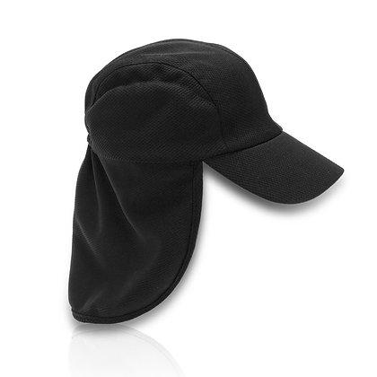 מגן - כובע 5 פאנל עם הגנה לעורף בד מנדף זיעה דרייפיט