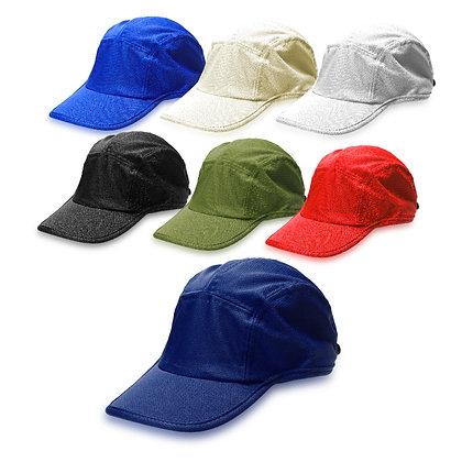 מג'ור - כובע מצחיה 5 פאנל בד מנדף זיעה דרייפיט סגר סקוץ'