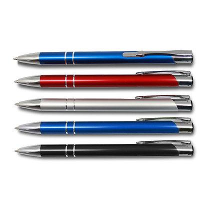 קווארץ - עט כדורי עשוי מתכת