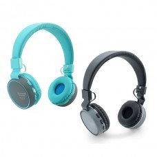 """""""סול"""" אוזניות בלוטוט עם רדיו FM ותא לכרטיס SD"""