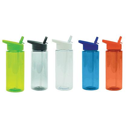 """מילר-בקבוקשתייהמפלסטיק,פיהעםקשיתמתקפלת,750מ""""""""ל,BPAfree"""