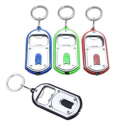 נגב - מחזיק מפתחות פנס לד עם פותחן לבקבוקי שתייה