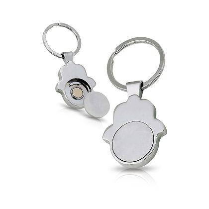 סופר חמסה - מחזיק מפתחות חמסה עם מטבע נשלף במארז מתנה