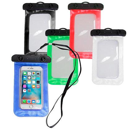 """פרוטק - נרתיק אטום ועמיד למים לכל סוגי הטלפונים הניידים  11X20 ס""""מ"""