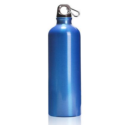 """אוקיינוס - בקבוק אלומניום עם שאקל 750 מ""""ל"""