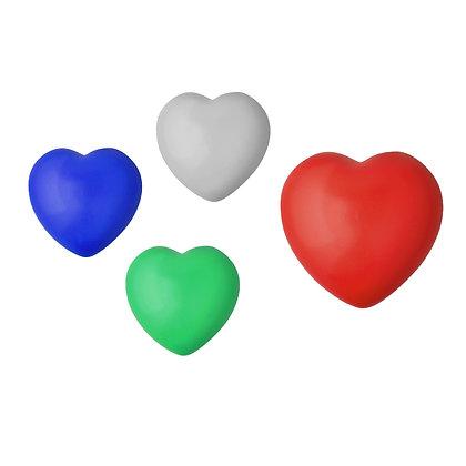 """הארט - כדור לחץ בצורת לב קוטר 6 ס""""מ"""