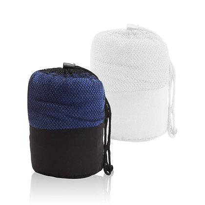 """שונית - מגבת פנים עשויה בד מיקרופייבר בתיק תואם 90X50 ס""""מ"""