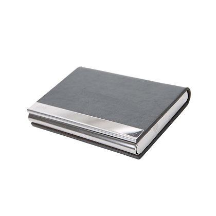 מונופול - מארז כרטיסי ביקור עשוי מתכת בכריכת דמוי עור