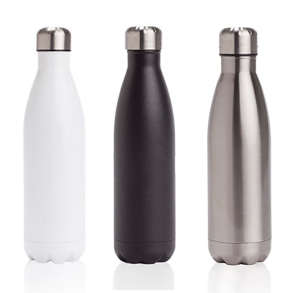 """קרטר - בקבוק טרמי איכותי עם שכבה כפולה לשמירת קור/חום 500 מ""""ל"""