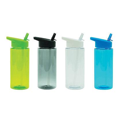 """פדרר - בקבוק שתיה, גוף AS, קש מתקפל, 540 מ""""ל, ללא BPA"""