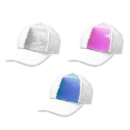 שיין - כובע רשת, כובע הקסם עם פייטים מתחלפים עם סגירת תיקתק 59