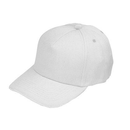 לימה – כובע כותנה, 5 חלקים עם מצחיית סנדוויץ, 100% כותנה סרוקה סוגר סקוטש, מתאים