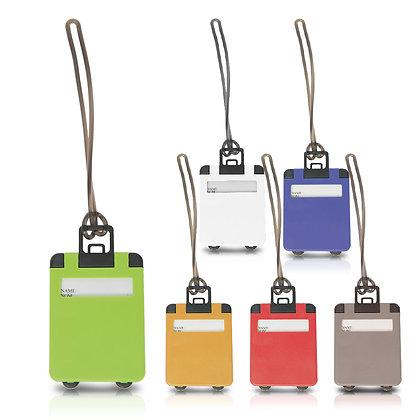 תגית - תג שם למזוודה מעוצב בצורת מזוודה