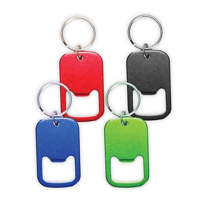 """מכבי - מחזיק מפתחות פותחן בקבוקים עשוי מתכת 5 ס""""מ"""