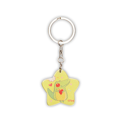 סטאר - מחזיק מפתחות בצורת כוכב מתאים לסובלימציה