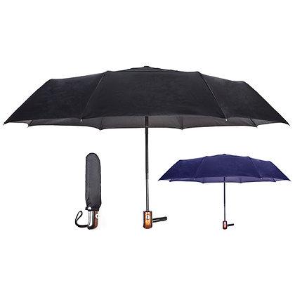 מטריה 23 - מתקפלת ל 3 , פתיחה אוטומטית , סגירת ולקרו
