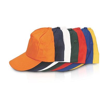 """אינטר- כובע מצחיה 5 פאנל ,סגר סקוץ' היקף 59 ס""""מ"""