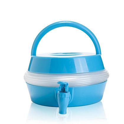 קמפר - מיכל מים מתכוונן למספר מצבים עם ברז למזיגה 5.5 ליטר