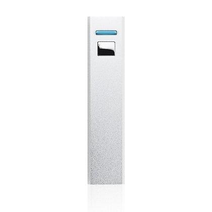 אמפר- סוללת גיבוי חיצונית נטעת עם כבל טעינה משולב מתאימה למגוון טלפונים MAH 2600