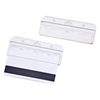 קארד - מחזיק פלסטיק קשיח לכרטיסי עובד. לשימוש קל ומהיר להעברת הפס המגנטי.