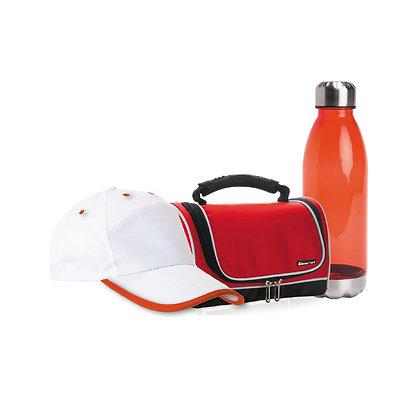 """סיבוב - סט מושלם לטיולים הכולל צידנית אישית מדגם """"פוגי"""", בקבוק שתיה מעוצב מדגם """""""
