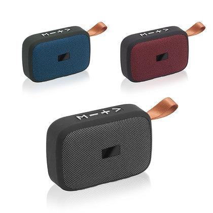 טנגו - מיני רמקול מעוצב בשילוב בד בטכנולוגיית בלוטוס' עם מיקרופון המאפשר דיבור,
