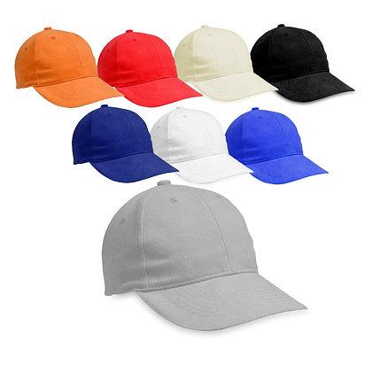 סרג'נט - כובע מצחיה 6 פאנל כותנה סרוקה סגר מתכת