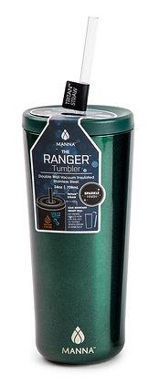 Manna Ranger Tumbler - Emerald Sparkle