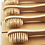 Thumbnail: 2 x Natural Bamboo Toothbrushes - Beige