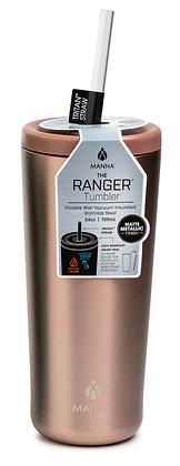 Manna Ranger Tumbler - Metallic Rose Gold