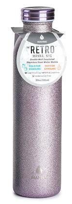Manna Retro - Lilac Glitter
