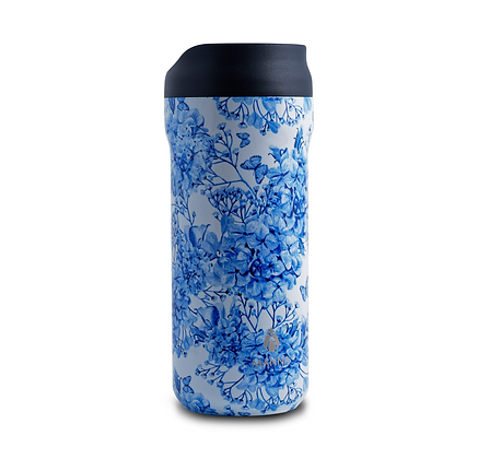 Manna Mocha - Blue Floral