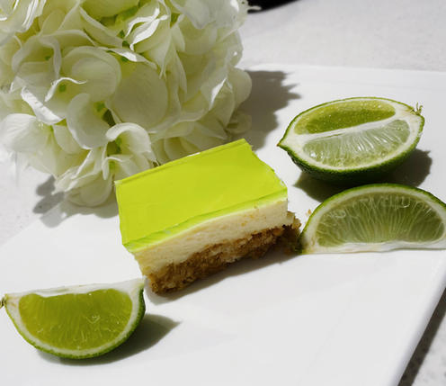 Lime Jelly Slice