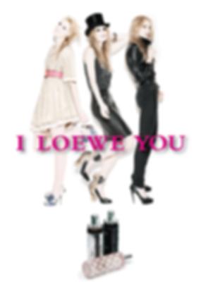 I, Loewe, You, grafica, generica, print, campaña, imagen, femenino, perfume,